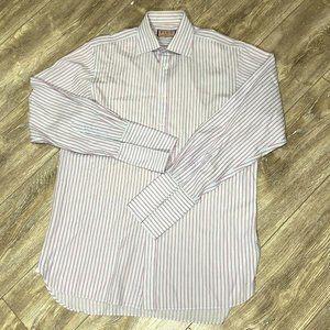 Thomas Pink Mens Luxury Dress Shirt